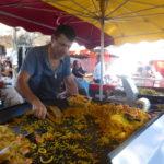 paella, San Tropez market