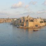 Arrival in La Valletta, Malta