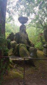 bomarzo statue