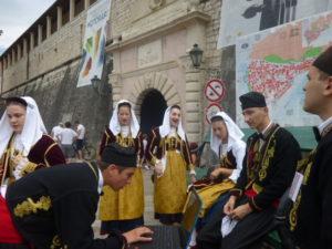 Kotor  folk dancers