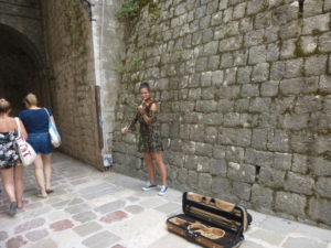 Violinist Kotor