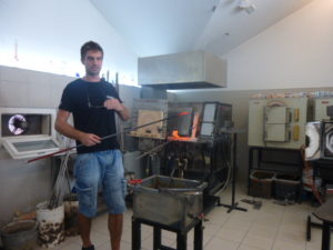 Zadar glass blowing