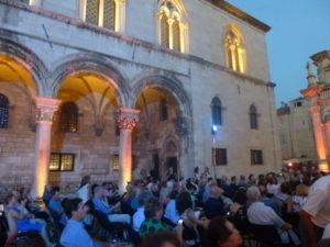 Dubrovnik concert in piazza