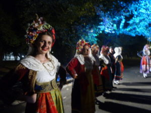 folklore show, Chania