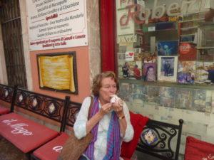 cannoli  tasting, Taormina