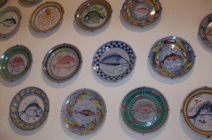 museum fish plates