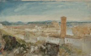 and Castle of St Angelo 1819 by Joseph Mallord William Turner 1775-1851