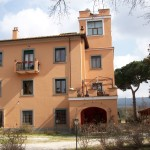 The villa of Podere La Branda