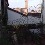 flowery terrace, view of Frari