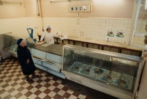 empty grocery stores USSR