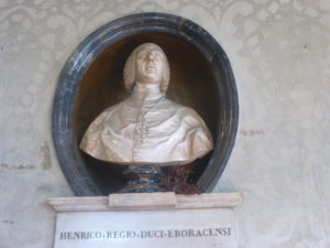 busto del Cardinale Stuart, Comune di Vetralla