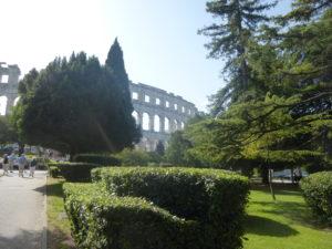 Pola Roman ampitheatre
