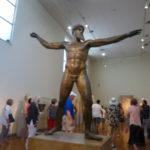 bronze god, Athens Archeology Museum
