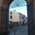 Casa del Vignola from Villa Lante entrance