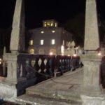 Villa Lante by night